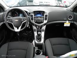 Jet Black Interior 2013 Chevrolet Cruze LT RS