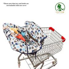 100 Frog High Chair GROCERY 2 IN 1 Cart Cover Shopping Washable Wipeable