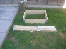 Item 2 SMALL USED WOODEN PALLET COLLARS RAISED BEDING PLANTS COMPOST BINS MANY USES