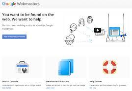 Webmaster by Setup Google Webmaster Tools Google Webmasters