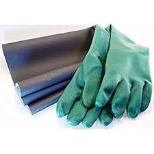 Econoline Blast Cabinet Gloves by Dragway Tools Rubber Sandblasting Gloves For Model 60 90 110