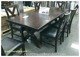 Dining Table Sets Costco Kitchen New Furnishings 9 Piece