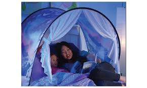 bed tent pop up bed tent playhouse size dreamtents groupon