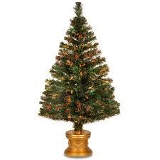 National Tree Company 4 Ft Fiber Optic Fireworks Evergreen Artificial Christmas SZEX7 100L 48