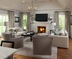 Houzz Fireplace Mantels Family Room Transitional With Window Treatments Oklahoma City Paint