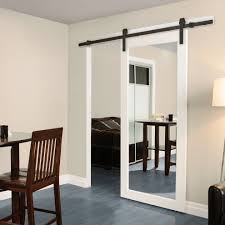 White Barn Doors Interior — New Decoration : Pretty Barn Doors ... White Barn Door Track Ideal Ideas All Design Best 25 Sliding Barn Doors Ideas On Pinterest 20 Diy Tutorials Jeff Lewis 36 In X 84 Gray Geese Craftsman Privacy 3lite Ana Door Closet Projects Sliding Barn Door With Glass Inlay By Vintage The Strength Of Hdware Dogberry Collections Zoltus Space Saving And Creative