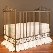 casablanca crib vintage gold