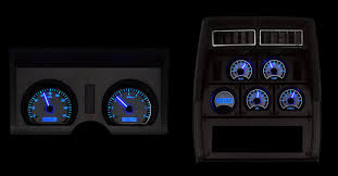 100 82 Chevy Truck Parts 1978 Corvette VHX System Silver Alloy Style Face Blue