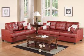 Thomasville Leather Sofa Recliner by Red Leather Sofa And Loveseat Set Steal A Sofa Furniture Outlet