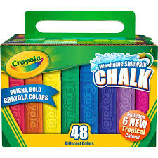 Crayola Bathtub Crayons Collection by Crayola Ultimate Coloring Collection With 48 Count Sidewalk Chalk