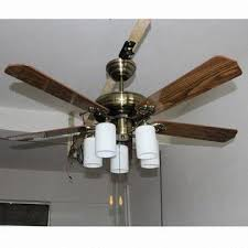 52 inch ceiling fan light with five blades suitable for interior
