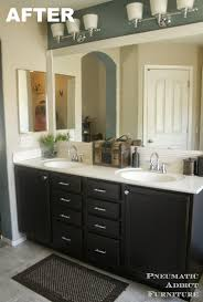 Best Colors For Bathroom Cabinets by Pneumatic Addict Darken Cabinets Without Stripping The Existing
