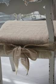 no sew seat cushions i would change the fabric but i love the