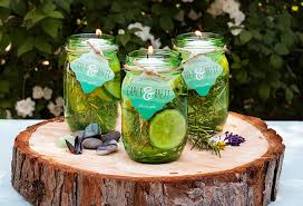Citronella Oil Lamps Diy by Diy Mason Jar Floating Citronella Candles Weddings Ideas From