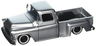 Jada 1:24 Just Trucks 1955 Chevrolet Stepside With Extra Wheels ...