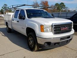 100 Gmc Work Truck Damaged Sierra 2500Hd Heavy Duty For Sale And Auction