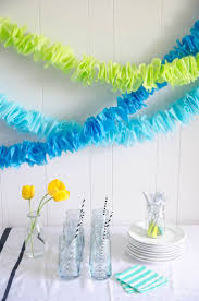 DIY Ruffled Tissue Paper Garland So Simple And Costs Pennies