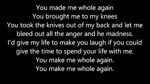 Whole Again Front Porch Step lyrics