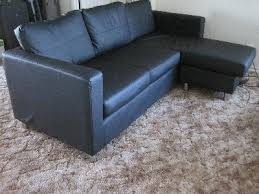 modern interior small spaces microfiber sectional