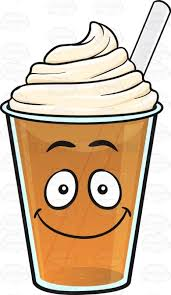 Happy Frappe Emoji Clipart By Vector Toons