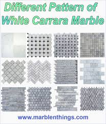 78 best white carrara marble mosaic tiles images on
