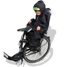 siege velo enfants sunnybaby cape de pluie pour siège de vélo enfant avec manches
