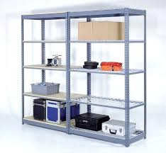 Stylish Storage Shelves Metal Heavy Duty Steel Shelving For Basement Home Depot