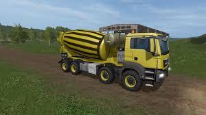 100 Concrete Truck Capacity FS17 MAN MIXER V17020 LS17Modscom Farming