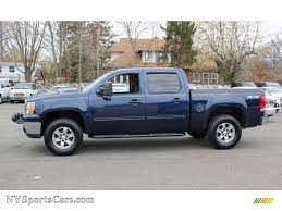2010 GMC Sierra 1500 SLE Crew Cab 4x4 In Midnight Blue Metallic ... Check Out Customized Notfeelinus 2010 Gmc Sierra 1500 Extended Cab Sle 4x4 In Fire Red 129886 Slt Crew Storm Gray Metallic 2016 2500 Hd 44 Used For Sale Near Fort Dodge Ia Denali Youtube Onyx Black 204347 Gmc Trucks For In Alberta Elegant 2500hd Bumper Facelift Perfect Have On Cars Design Ideas With Price Trims Options Specs Photos Reviews