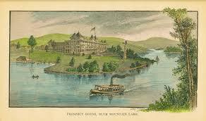 100 Prospect House On Blue Mountain Lake The Adirondack