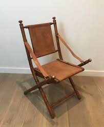 Leather And Bamboo Folding Safari Chair. French. Circa 1970 ... Rd9582 2 Vintage Samson Folding Chairs Shwayder Bros Samso Amazoncom Wooden Chair Modern Ding Natural Solid Leather Home Design Set Of Twenty Four Bamboo Red Home Lifes French Directors In Beech 1960s Antique Armchair With Shadows Stock Photo Luggage On Edit Folding Chair Restorno Chairsantique Arm Chairsoccasional Pair Armchairs In Wood And Brown Galerie