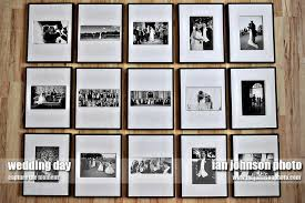 Wedding Picture Display Wall