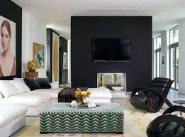 Dark Gray Accent Wall Dining Room For Villa Nirvana