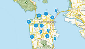 San Francisco California Kid Friendly Map
