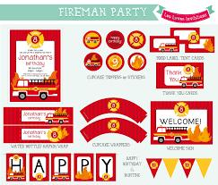 100 Fire Truck Birthday Party Invitations Man Party Invitations Free Printable Eyerunforpoborg