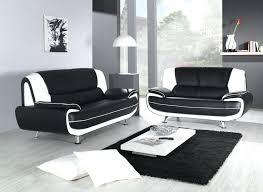 canape simili cuir noir canape simili cuir 2 places canapac design en imitation marron