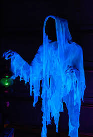 Halloween Chasing Ghosts Projector Light by Maybe Several Of These Made From Cheese Cloth With The Black