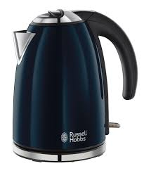 Russell Hobbs 18947 Colours 17 Litre Navy Blue Kettle