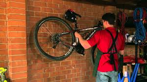 Ceiling Bike Rack Diy by How To Hang A Bicycle Diy At Bunnings Youtube