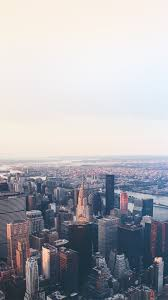 Wallpaperwiki New York Flare Blue City Sky Iphone Wallpaper PIC WPC006229 IPhone Backgrounds