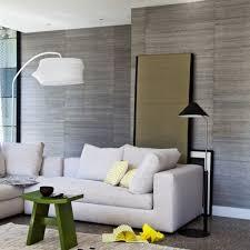 wohnzimmer tapete grau tipps wohnzimmermöbel ideen