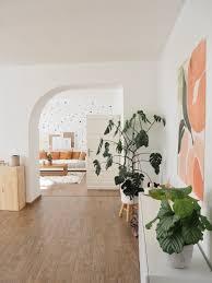 wohnzimmer durchgang rundbogen wandbild wandges