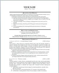 Restaurant Server Resume Example A Samples