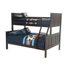 murano bunkbed twin over full bunk bed in merlot jerome s furniture