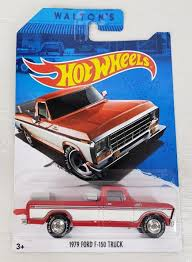 Hot Wheels Sam Waltons 79 Ford F150 Diecast Toy Truck Collectible ... 132 High Simulation Exquisite Model Toys Double Horses Car Styling Diecast Garage Diorama Package 1979 Ford F150 Custom Pick Free Shipping New Raptor Pickup Truck Alloy Car Toy Atlas Railroad N Blue 2 Atl2942 Shop World Tech 124 Licensed Svt Friction Amazoncom Lindberg 125 Scale Flareside 15 Toy Die Cast And Hot Wheels 2016 From Sort Upc 011543602033 State Dub Ridez 4 Revell 97 Xlt Rmx857215 Hobbies Hobbytown