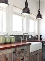 industrial pendant lighting kitchen contemporary with farm sink
