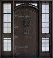 RUSTIC SOLID WOOD ENTRY DOORS Doors For Builders Inc Rustic