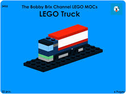LEGO Truck Instructions Book | The Bobby Brix Channel Official ... Lego 3221 City Truck Complete With Itructions 1600 Mobile Command Center 60139 Police Boat 4012 Lego Itructions Bontoyscom Police 6471 Classic Legocom Us Moc Hlights Page 36 Building Brpicker Surveillance Squad 6348 2016 Fire Ladder 60107 Video Dailymotion Racing Bike Transporter 2017 Tagged Car Brickset Set Guide And