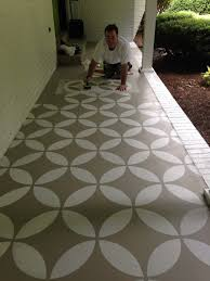 Concrete Patio Floor Paint Ideas yard Pinterest