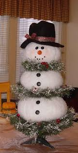 Snowman Christmas Tree Decorations